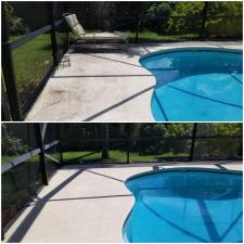 Pool area cleaning
